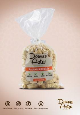 Biscoito de Amendoim Zero Açúcar, Sem Glúten.