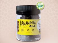 Bananinha Dark, Sem Glúten, Sem Lactose, Zero Açúcar, Vegano.