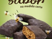 Pão de Mel Sem Glúten, Zero Açúcar, Sem Lactose, Com Chocolate 70% (Donna Asta).